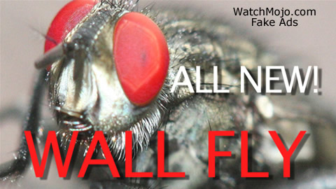 Fake Ad: The Wall Fly