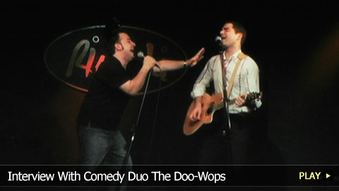 Interview With Comedy Duo The Doo-Wops