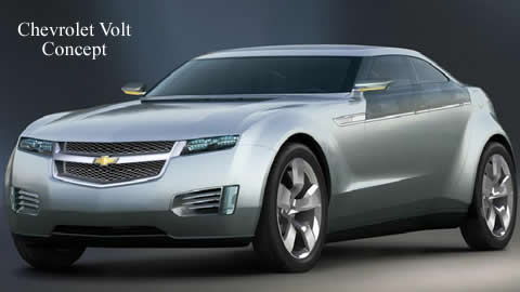 Video Profile: Electric Car - Concept Chevy Volt