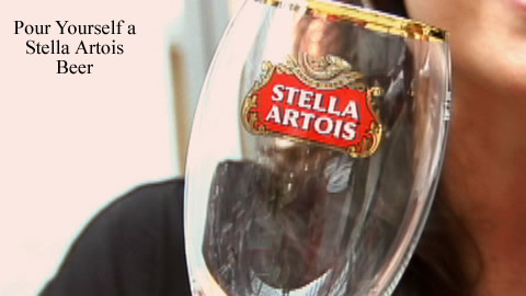 Serve the Perfect Stella Artois Beer