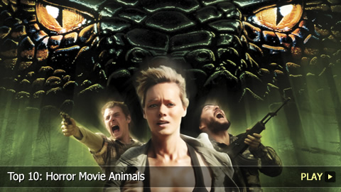 Top 10: Horror Movie Animals