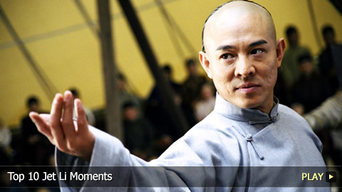 Top 10 Jet Li Moments
