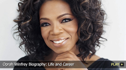 oprah winfrey biography 1954