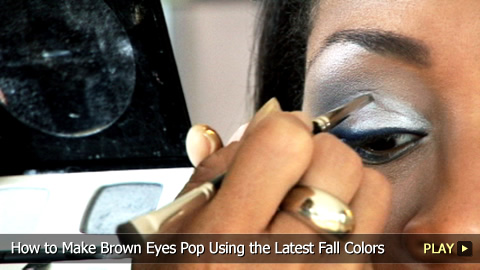 How To Make Brown Eyes Pop Using the Latest Colors