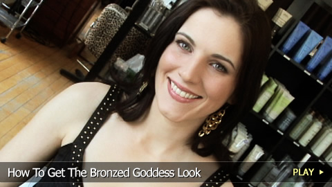 How To Get The Bronzed Goddess Look