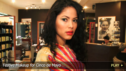 Festive Makeup for Cinco de Mayo
