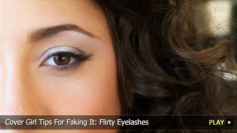 How To Get Flirty Eyelashes