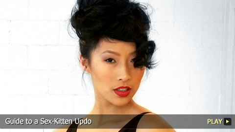 Guide to a Sex-Kitten Updo