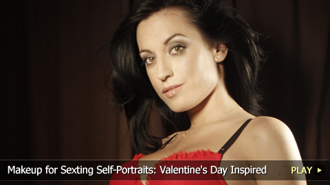 Makeup for Sexting Self-Portraits: Valentine's Day Inspired