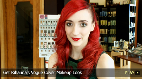 Get Rihanna's Vogue Cover Makeup Look