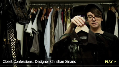 Closet Confessions: Designer Christian Siriano
