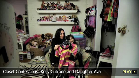 Closet Confessions: Fashion Publicist Kelly Cutrone and Daughter Ava