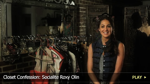Closet Confession: Socialite Roxy Olin