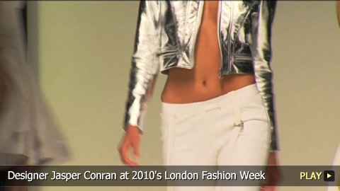 Designer Jasper Conran at 2010 London Fashion Week