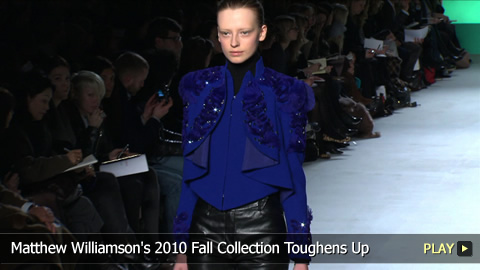 Matthew Williamson's 2010 Fall Collection Toughens Up