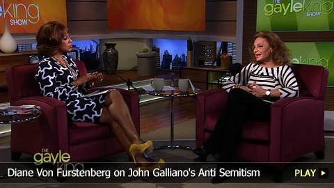 Diane von Furstenberg on John Galliano's Anti Semitism