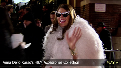 Anna Dello Russos H and M Accessories Collection