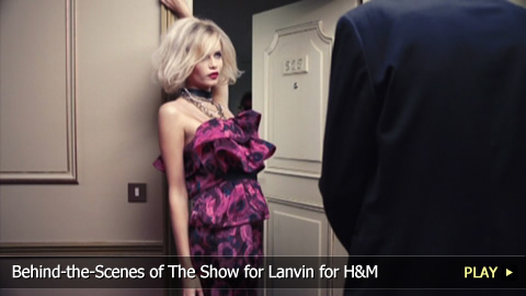 Behind-the-Scenes of The Lanvin Ad for H&M