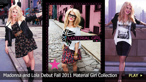 Madonna and Lola Debut Fall 2011 Material Girl Collection