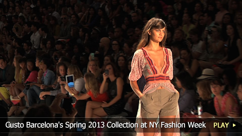Custo Barcelona's Spring 2013 Collection at New York Fashion Week
