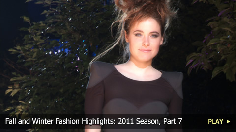 Fall and Winter Fashion Highlights: 2011 Season, Part 7
