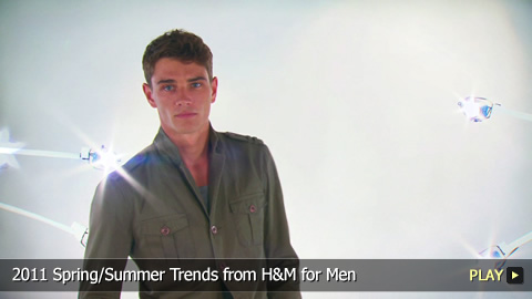 2011 Spring/Summer Trends from H&M for Men