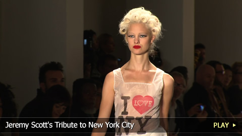 Jeremy Scott's Tribute to New York City