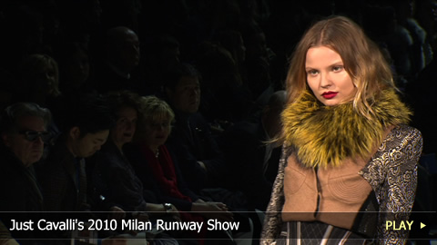 Just Cavalli's 2010 Milan Runway Show