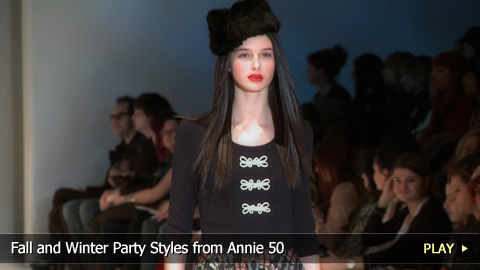 Fall and Winter Party Styles from Annie 50