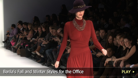 Barila's Fall and Winter Styles for the Office