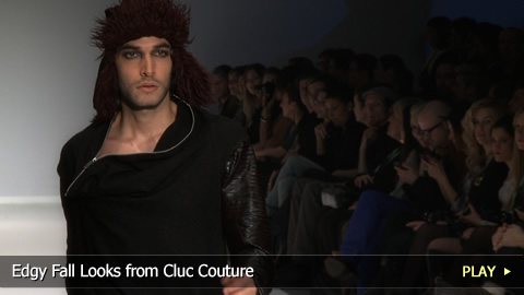Edgy Fall Looks from Cluc Couture