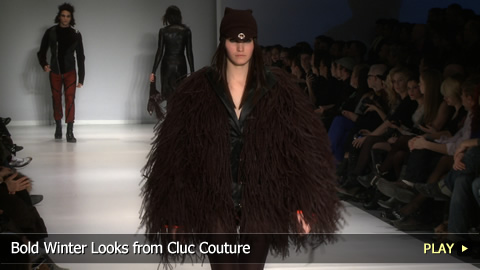 Bold Winter Looks from Cluc Couture