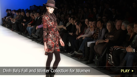 Dinh Ba's Fall and Winter Collection for Women