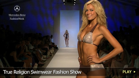 True Religion Swimwear Fashion Show