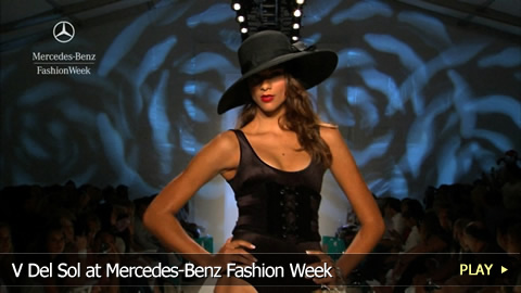 V Del Sol at Mercedes-Benz Fashion Week