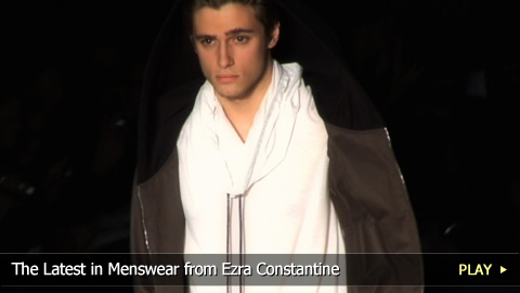The Latest in Menswear from Ezra Constantine