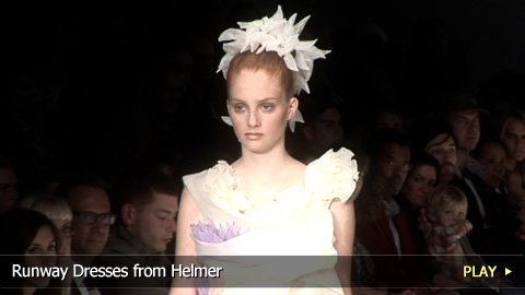 Runway Dresses from Helmer