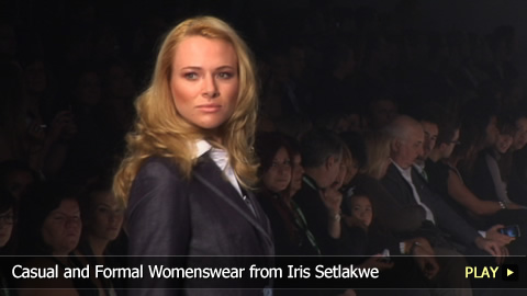 Casual and Formal Womenswear from Iris Setlakwe
