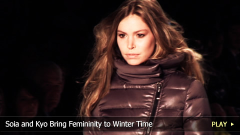 Soia and Kyo Bring Femininity to Winter Time