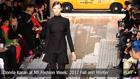 Donna Karan at New York Fashion Week: 2012 Fall and Winter Collection