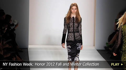 New York Fashion Week: Honor 2012 Fall and Winter Collection