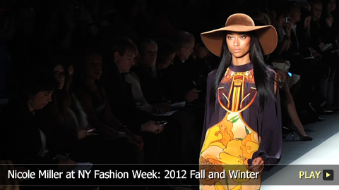 Nicole Miller at New York Fashion Week: 2012 Fall and Winter Collection