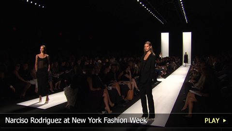 Narciso Rodriguez at New York Fashion Week