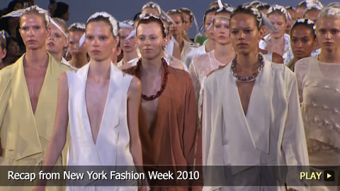 Recap from New York Fashion Week 2010