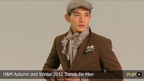 H and M Autumn and Winter 2012 Trends for Men