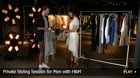 Private Styling Session for Men with H&M