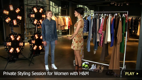 Private Styling Session for Women with H&M