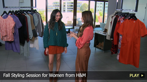 Fall Styling Session for Women from H&M