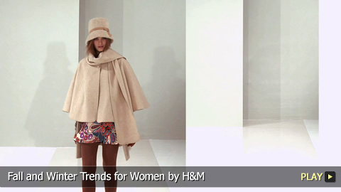 Fall and Winter Trends for Women by H and M