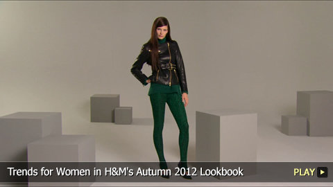Trends for Women in H&M's Autumn 2012 Lookbook